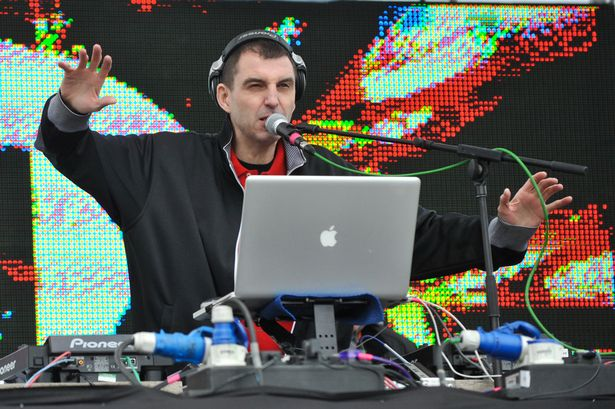 Tim Westwood performs on stage on the first day of BBC Radio 1's Big Weekend-846601