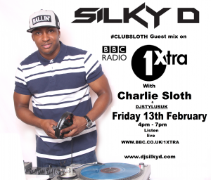 DJ SILKY D ON BBC 1XTRA MAIN