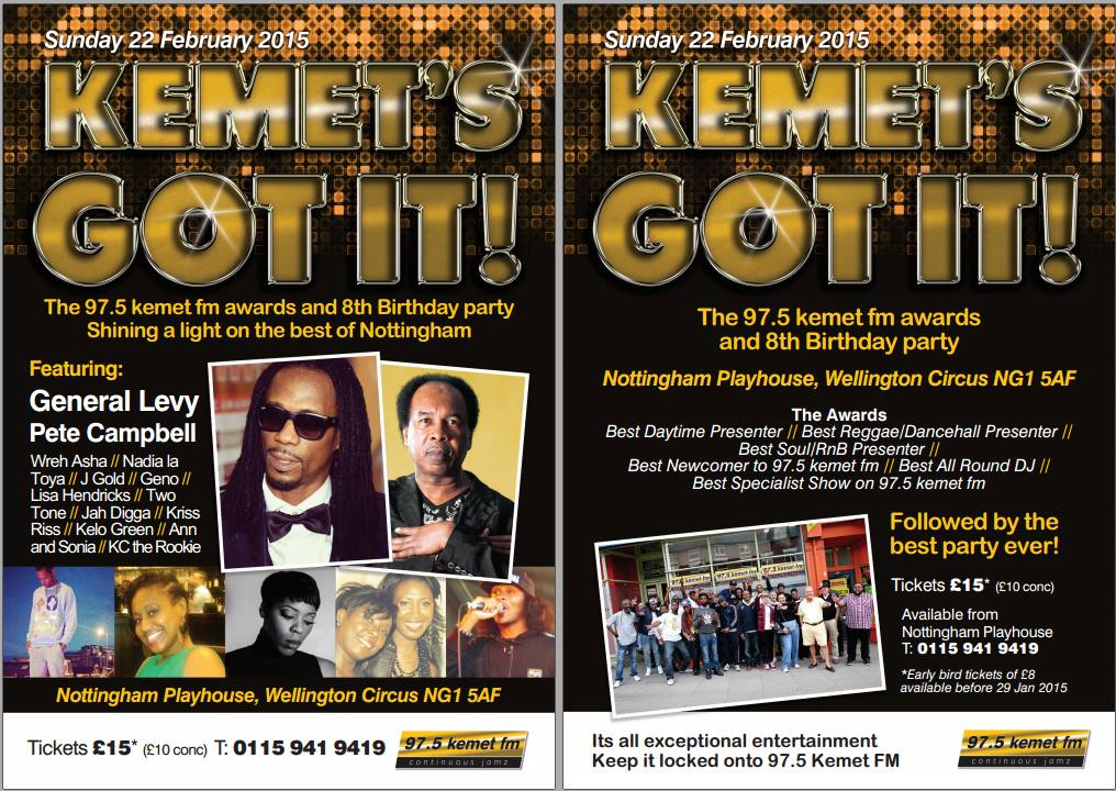 THE 97.5 KEMET FM AWARDS AND 8TH BIRTHDAY PARTY